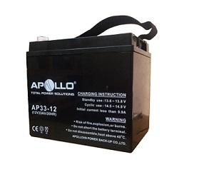 Ắc quy Apollo 12V 33Ah, AP33-12