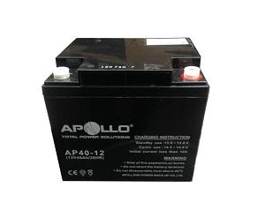 Ắc quy Apollo 12V 40Ah, AP40-12