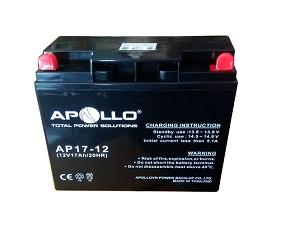 Ắc quy Apollo 12V 17Ah, AP17-12