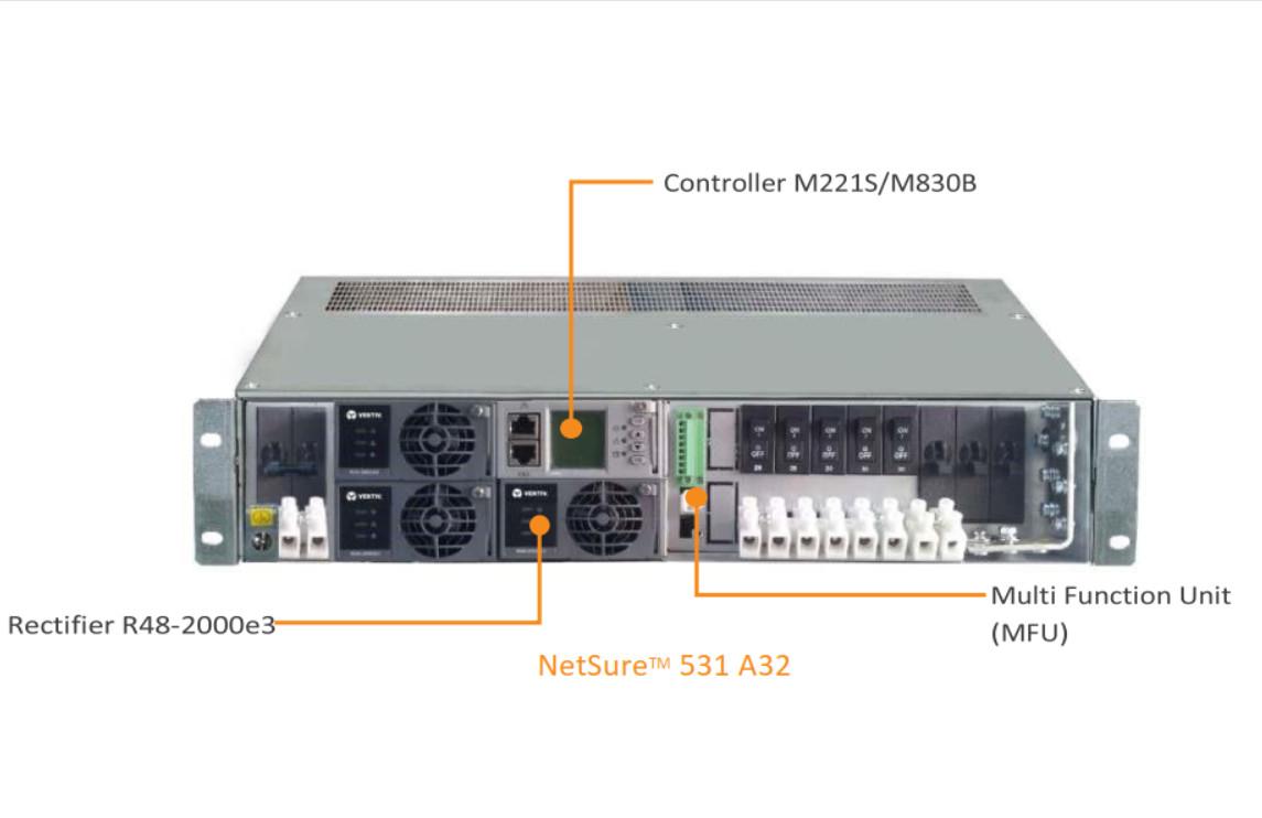 Bộ nguồn viễn thông Rectifier Emerson NetSure 531 A32