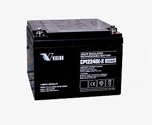 Ắc quy Vison 12V 24Ah, CP12240E-X